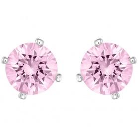 Orecchini Swarovski Attract Pearl punto luce rosa lobo - 5166807
