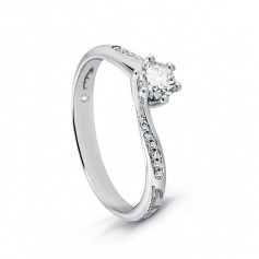Diamond Ring Central and contour-20068982 Salvini Poetry