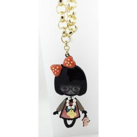 Die Carose Flapperona-Halskette mit Bogen