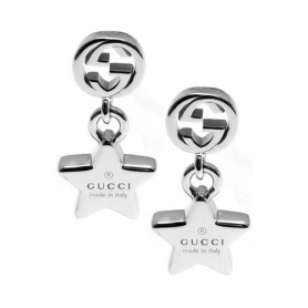 Orecchini Gucci pendenti Trademark Stella - YBD35625200100U