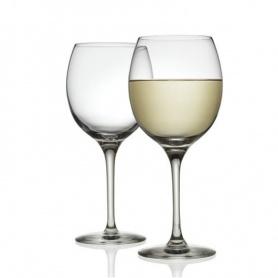 Alessi Mami XL weiß Weingläser Set von zwei-SG119/1S2