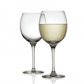 Alessi Mami XL white wine glasses Set of two-SG119/1S2