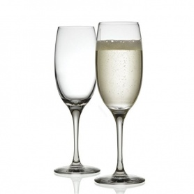 Alessi Mami XL Set two glasses sparkling wine and champagne