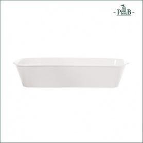 La Porcellana Bianca Teglia Rettangolare Stondata Anghiari