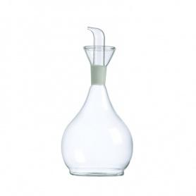 Evoo Öl Essig Spender weiße Porzellan 0,5Lt Gb