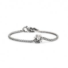 Lucky bracelet soft silver Trollbeads Day2016