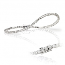 Crieri white gold and diamond Tennis bracelet