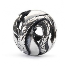 Feather of liberty silver Trollbeds beads