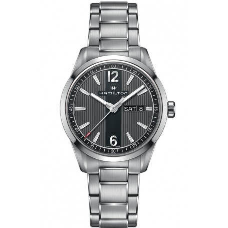 Swiss Army Jam Tangan Couple Stainless Steel Silver - SA401 Black. Source · Hamilton-