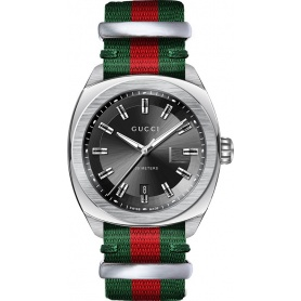 1e389e89bd4 Mens Gucci watch GG2570 red green strap-YA142305