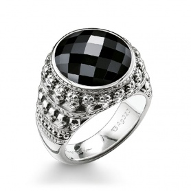 Thomas Sabo Onix Ring - TR200502411-62
