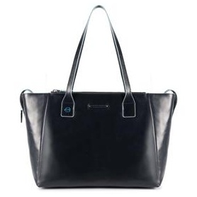 Piquadro Blue Square Shopping Bag-BD3883B2/Blue2