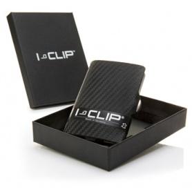 Portabanconote e porta carte di credito I-Clip Carbon