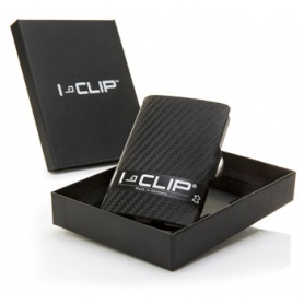 Money clip and credit card holder-Clip Carbon