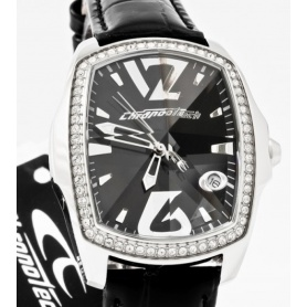 Chronotech Lady rhinestone black Prism-CT. 7896LS-07