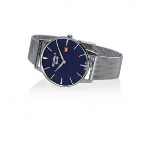 Orologio Vintage Watchmaker Milano blu con maglia milanese