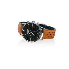 Vintage Watchmaker Milan Chrono Black