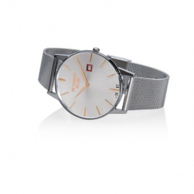 Vintage Watchmaker Milan gray with mesh