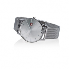Vintage Watchmaker Milano silver with mesh