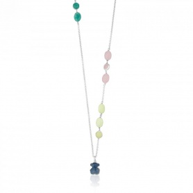 New Color Tous Necklace with gems - 615432570