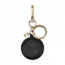 Portachiavi pelle nera Tous Bear - 195970240