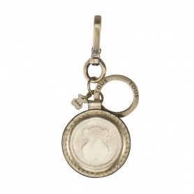 Portachiavi Tous Bear pelle bronzo - 195970264