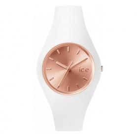Orologio Ice Glam bianco e quadrante rosè