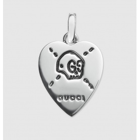 Charms Gucci Ghost Heart in argento - YBG45527200100U