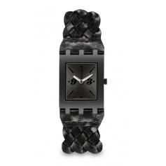 Swatch Square Black Braid-SUBB124
