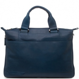 Piquadro folder Briefcase blue-CA1618S73/blue