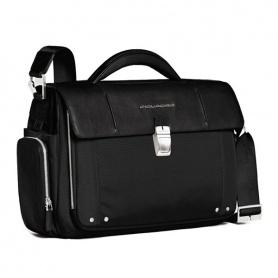 Piquadro Ordner mit Griff und Seite Taschen Link-CA1095LK/N