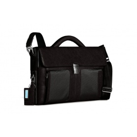 Piquadro folder with strap Frame-CA1620FR/N