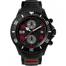 Orologio Ice Watch Carbon Crono Nero e Rosso