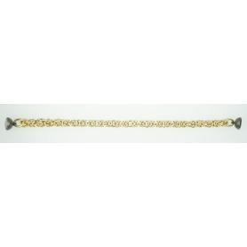 Byzantinische Armband mesh Silber vergoldet B759 Phidias/GN