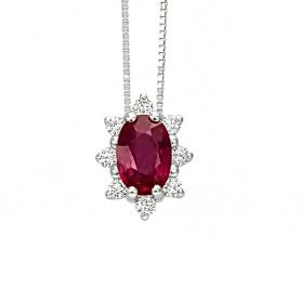 Isabelle Rubuno und 20061818 mit Diamant-Halskette-Bliss