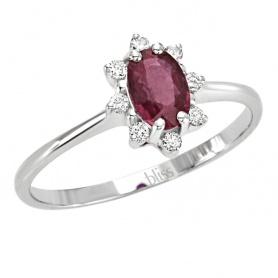 Isabelle Rubuno und 20061816 mit Diamant-Ring Bliss