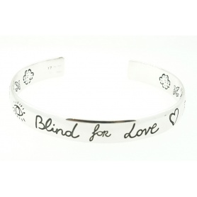 Bracciale Bangle Gucci largo Blind For Love - YBA4542870010
