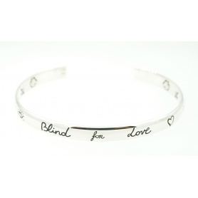 Bracciale Bangle Gucci stretto Blind For Love - YBA4552420010