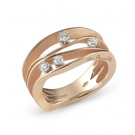 Annamaria Cammilli Dune Orange gold average ring-GAN0778J