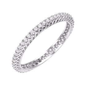 Circular Ring Ring Bliss Frist Class with Diamonds