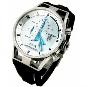 Locman Uhren Montecristo Crono Quarz Silber Nr. 510