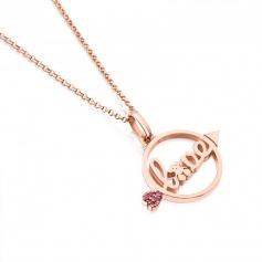 Valentine Love rose 715304550 Arrow necklace Tous