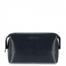 Beauty blue leather Blue Square line-Piquadro BY3851B2/Blue2