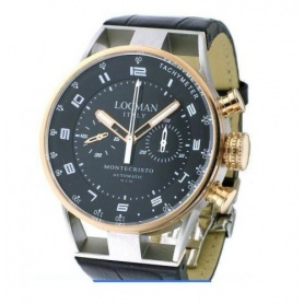 Locman Montecristo chrono automatic manufacturing watch