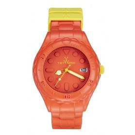 Toyfloat Orange und gelbe Toy Watch Armbanduhr-SF05OR