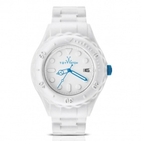 Toy Watch weiß-blauen Toyfloat-SF01WH zu sehen
