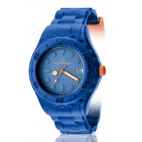 Orologio Toy Watch Toyfloat blu ed arancio - SF07BL