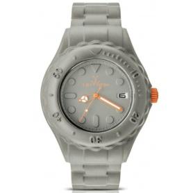 Toyfloat grau und orange Toy Watch Armbanduhr-SF08HG