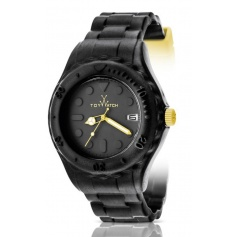 Toy Watch watch Toyfloat black and yellow fluo-SF02BK