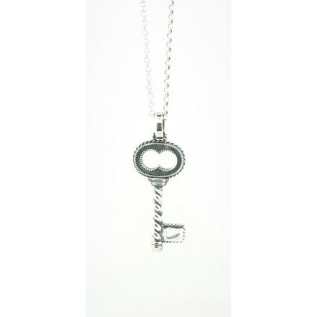 negozio online 40b89 85047 Collana Otto Gioielli chiave grande in argento linea Torcolo